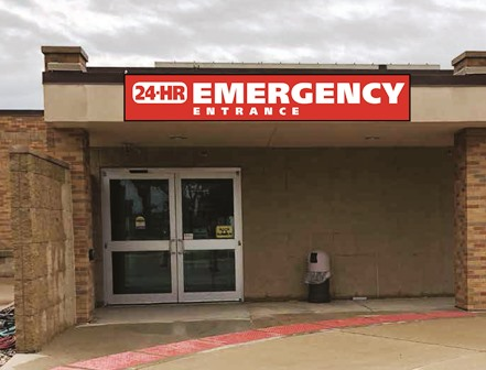 BettER and FastER care when using our ER Entrance!