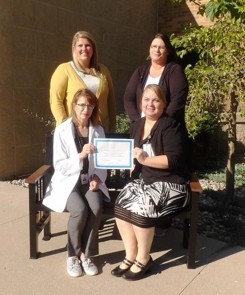 Loring Hospital recently received a Quality Award for A