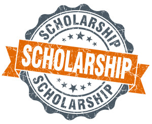 Auxiliary scholarship available graphic